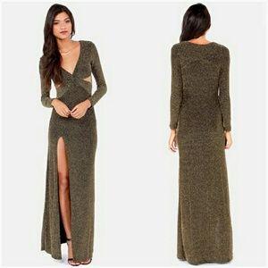 Ark & Co. Slit Maxi Dress
